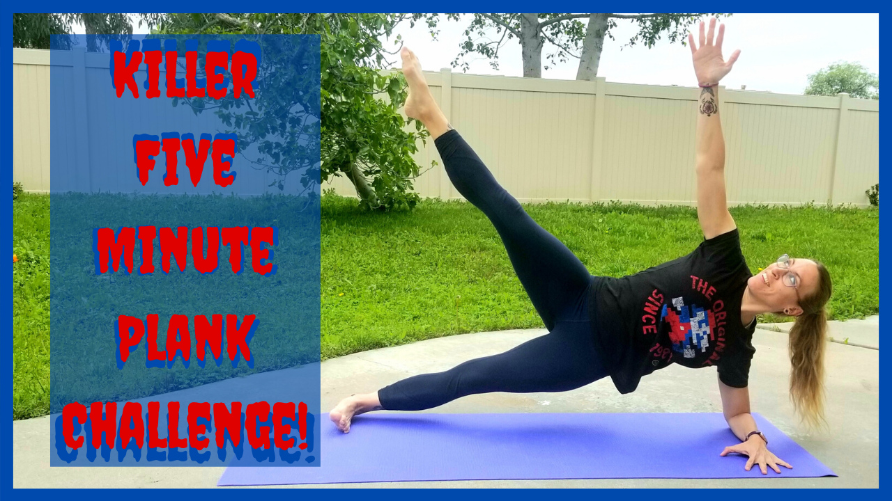 Killer Five Minute Plank Challenge! - NerdCore Performance